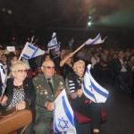 «Русские» евреи Нью-Йорка вышли поддержать Израиль