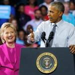Барак Обама — я передаю эстафету Клинтон
