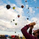 Международный фестиваль воздушных шаров Albuquerque International Balloon Fiesta-2015