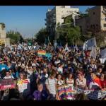 В Иерусалиме прошел крупнейший гей-парад