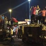 Переворот в Турции подавлен