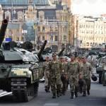 Репетиция парада ко Дню Независимости в деталях. Киев 2016