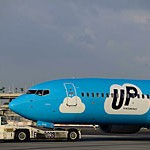 Самолет компании UP, следовавший в Киев, запросил аварийную посадку в Израиле