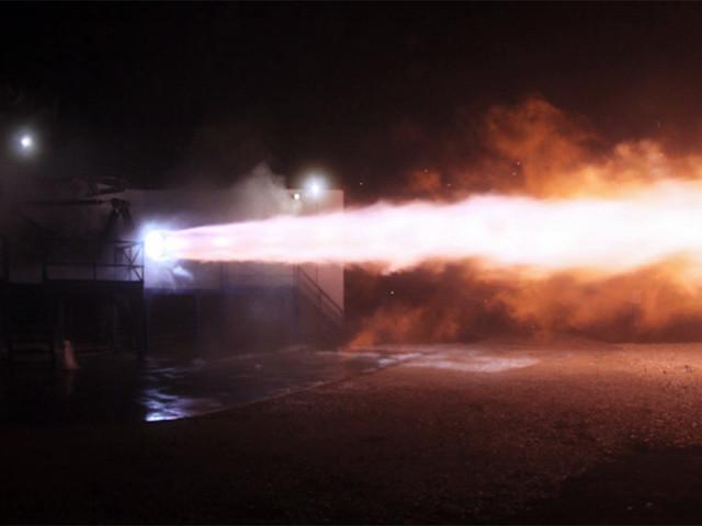 SpaceX протестировала двигатели для полета кМарсу