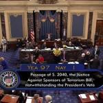 Конгресс США преодолел вето Обамы на закон об исках по терактам 11 сентября к Саудовской Аравии