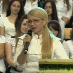 Тимошенко отправилась по пути Сыроид и пошла агитировать в секту (видео)