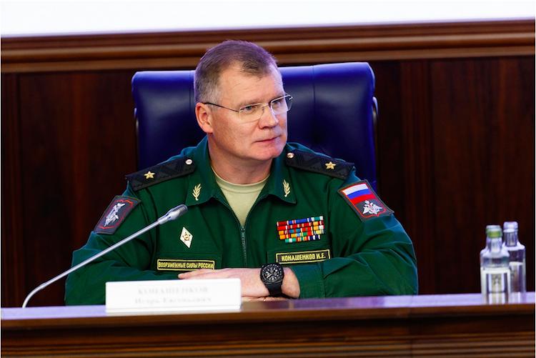 Русские военные дали понять, что будут сбивать американские ракеты вСирии