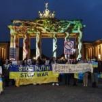 В Берлине, Мюнхене, Австрии требовали от России прекратить войну и уйти с Крыма