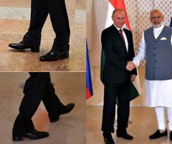 УкроСМИ нашли в Индии «другого» Путина