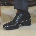 Двойнику Путина надели специальную обувь