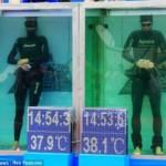 Немецкий пловец продержался под водой без воздуха 22 минуты