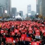 В Южной Корее происходит «желтая революция»
