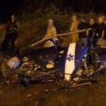 В Рио-де-Жанейро местные банды сбили полицейский вертолет над городом