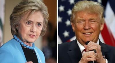 Клинтон опережает Трампа на4% — Опрос