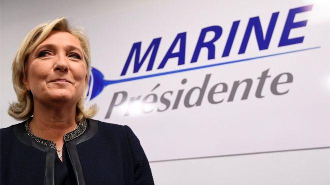 Марин ЛеПен предложила отнять детей нелегалов бесплатного образования
