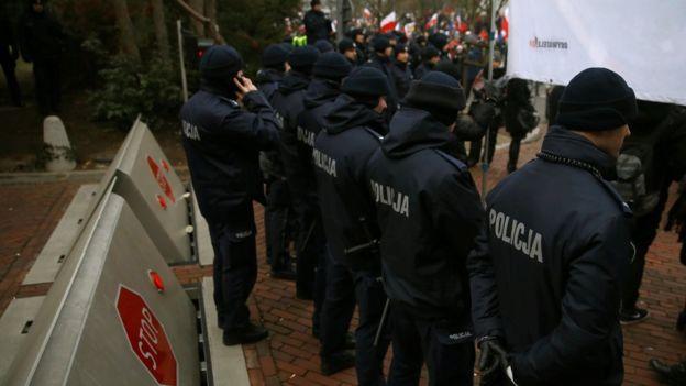 Беспорядки вПольше: Оппозицию обвинили впопытке незаконного захвата власти