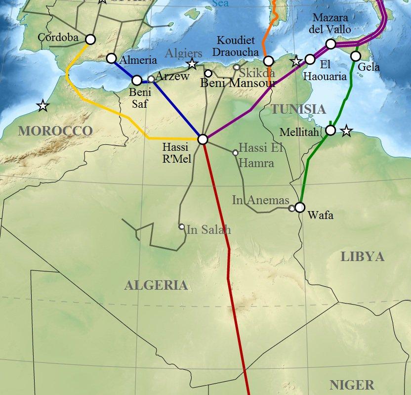Нигерия иМарокко построят газопровод для выхода на рынок Европы