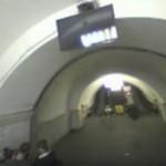Энтузиасты пролетели сквозь киевское метро на квадрокоптере (видео)