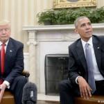 Уходящий Обама заметно популярнее Трампа