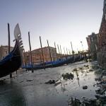 Аномальный отлив оставил Венецию без воды