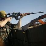 На Донбассе боевики перед побегом расстреляли российского офицера