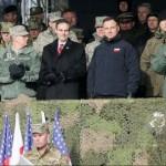 В Польше стартовали польско-американские военные учения