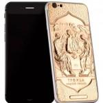 В РПЦ будут поставлять золотые iPhone с иконами и куполами