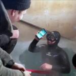 iPhone 7 остался рабочим проведя 13 часов в замерзшем озере