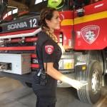 Самая привлекательная женщина-пожарный