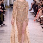 Elie Saab представил роскошную коллекцию платьев на Неделе моды в Париже