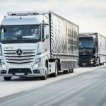 Япония внедрит колонны беспилотных грузовиков в 2020 году