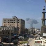 Израиль атаковал террористов в Газе