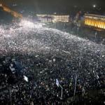 Свыше полумиллиона человек вышли на антиправительственные протесты в Румынии
