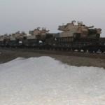 В Румынию прибыла американская танковая бригада