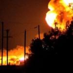 В Донецке взорвали очередной склад боеприпасов боевиков
