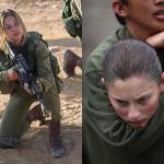 Совместные учения девушек из израильского «Гепарда» и морской пехоты США