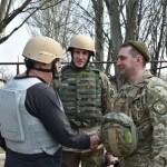 Американские военные советники посетили зону АТО