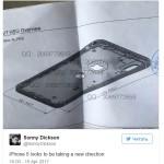 Опубликовано фото чертежа iPhone 8