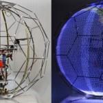 В Японии создали летающий 3D дисплей (видео)