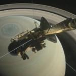NASA показало будущую гибель Cassini в атмосфере Сатурна