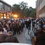 Демонстранты захватили парламент Македонии