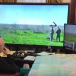 Турчинов показал, как он управляет пуском ракет из своего кабинета