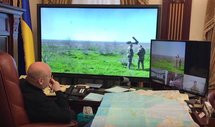 Турчинов поведал овосстановлении ракетного щита вгосударстве Украина