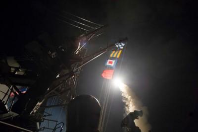 Ракетный удар США. ВРФ увидели попытку разделить Сирию пополам