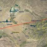 На Ташкент упала китайская ракета-носитель (видео)