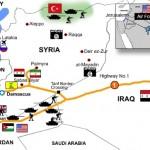 Американский и британский спецназ на бронетехнике вошел в восточную Сирию