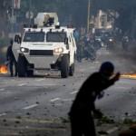 В Венесуэле протестанты сожгли дом Уго Чавеса