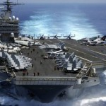 США собрали возле КНДР большую ударную авианосную группу