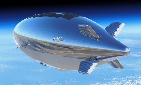 Основатель Google строит самый массивный дирижабль