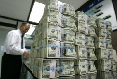 Россия замесяц купила гособлигации США на $13,5 млрд